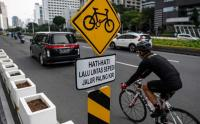 Polda Metro Jaya Akan Kaji Ulang Jalur Sepeda Permanen