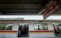 Mudik Stasiun Pasar Senen Berangsur Sepi Jelang Lebaran