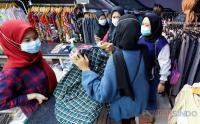 Pasar Tanah Abang Ramai Jelang Lebaran