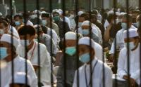 Terapkan Prokes Ketat, Masjid Baitul Haq Bekasi Gelar Sholat Idul Fitri