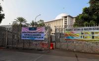 Begini Suasana Masjid Istiqlal yang Tidak Menggelar Sholat Idul Fitri