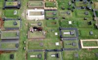 Ziarah Makam Dilarang, TPU Tanah Kusir Sepi