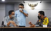 Gubernur DKI Jakarta Bersama Pangdam Jaya dan Kapolda Metro Gelar Rapat Terkait Arus Balik Lebaran