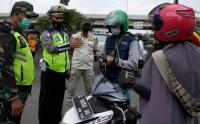 Penyekatan Mudik Lokal di Kalimalang Bekasi
