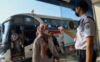 Tiba di Jakarta, Pemudik Diperiksa Dua Lapis