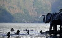 Libur Lebaran, Wisatawan Pilih Kunjungi Danau Batur