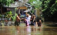 Imbas Luapan Sungai Krueng Woyla, Banjir Rendam Puluhan Rumah di Aceh Barat