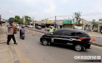 Penyekatan Arus Balik Mudik Lebaran di Jalan Raya Parung