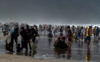 Libur Lebaran, Pantai Parangtritis Dipadati Wisatawan Lokal
