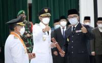 Pesan Ridwan Kamil untuk Bupati dan Wakil Bupati Cianjur yang Baru Dilantik