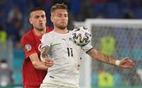 Babak Pertama, Italia vs Turki Skor Masih 0-0