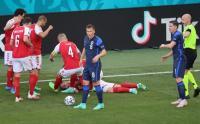 Insiden Terkaparnya Christian Eriksen dalam Laga Denmark Vs Finlandia Piala Eropa 2020