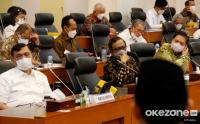 Banggar DPR Bahas RAPBN 2022 Bersama Menko Marves, Menko Polhukam, Menko Perekonomian dan Menko PMK