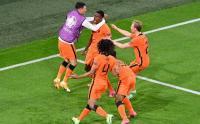 Hasil Liga Eropa 2020, Belanda Susah Payah Kalahkan Ukraina