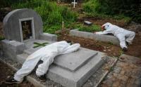 TPU Cikadut Bandung Seharinya Menangani 20-30 Jenazah Covid-19