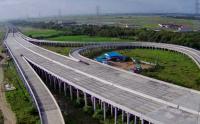Foto Udara Pembangunan Jalan Tol Cibitung-Cilincing