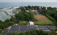 PLTS Penuhi Pasokan Listrik Warga Pulau Sabira, Kepulauan Seribu