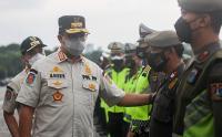 Gubernur Anies Tinjau Apel Gabungan Guna Persiapan Pengetatan PPKM Mikro di DKI Jakarta
