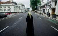 Antisipasi Kerumunan, Jalan Asia Afrika Bandung Ditutup