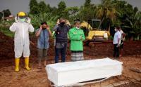 Jenazah Covid-19 di TPU Jombang Perharinya Meningkat 100 Persen