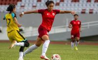 Tim Putri PON DKI Jakarta Menang Telak 4-0 dari Bappeda FC