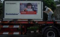 Vaksin Tahap 17 Tiba di Bio Farma Bandung