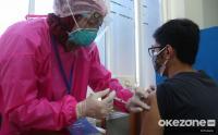 Vaksinasi Covid-19 untuk Mahasiswa di Kampus UP
