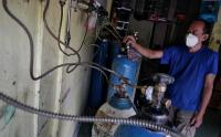 Oksigen Isi Ulang Mulai Langka di Yogyakarta