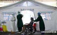 RSUD Cengkareng Bangun Tenda Darurat untuk Pasien Covid-19