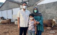 Raffi Ahmad Ajak Raffatar Lihat Sapi Seberat 1,4 Ton yang Akan Disembelih