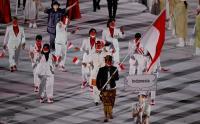 Tampak Elegan, Rio Waida Pakai Baju Adat Bali Payas Madya di Pembukaan Olimpiade Tokyo