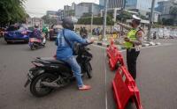 Pengamanan Antisipasi Demonstrasi Tolak Perpanjangan PPKM