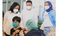 Di Momen Hari Anak Nasional, Anak-Anak Antusias Ikut Vaksinasi