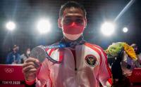 Potret Eko Yuli Irawan Peraih Medali Perak Olimpiade Tokyo 2020
