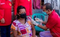 BIN Gelar Vaksin Keliling ke Rumah Warga di Makassar
