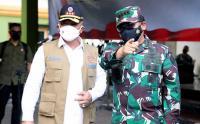 Panglima TNI Tinjau Tempat Isolasi Pasien Positif Covid-19 di Asrama Haji Sleman