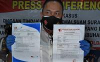 Polisi Ungkap Pemalsuan Surat Hasil Tes Antigen Covid-19 di Pelabuhan Merak
