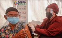 Hari Ke-5, Warga Masih Antusias Ikuti Vaksinasi di MNC Studios