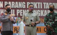 Penampakan Ratusan Tabung Oksigen Hasil Sitaan Polda Metro Jaya