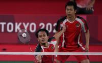 Susah Payah Kalahkan Ganda Jepang, Ahsan/Hendra Melaju ke Semifinal