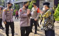 Kapolri Tinjau Vaksinasi Covid-19 di Gedung Pusat Dakwah Muhammadiyah