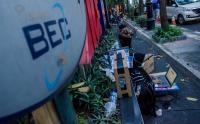 Sepi pembeli, Pedagang Elektronik di Bandung Terpaksa Turun ke Jalan