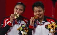 Greysia/Apriyani Cium Mesra Medali Emas Olimpiade Tokyo