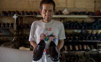 Melihat Kegiatan di Industri Sepatu yang Terimbas Pandemi Covid-19