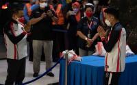 Peraih Medali Perunggu Olimpiade Tokyo, Anthony Ginting Tiba di Tanah Air