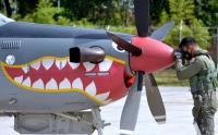 Pesawat Super Tucano Patroli Alur Laut Kepulauan Indonesia di Wilayah Bali