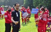 Peraih Medali Emas Paralimpiade Tokyo Leani Ratri Oktila Dapat Bonus dari Presiden Jokowi