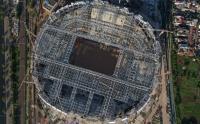 Foto Udara Pembangunan Jakarta International Stadium Markasnya Persija