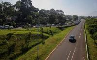 Libur Akhir Pekan, Jalur Puncak Bogor Macet Total