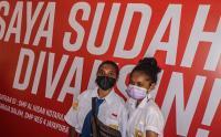 Dukung Program Vaksinasi, Ratusan Pelajar di Jayapura Papua Disuntik Vaksin Covid-19